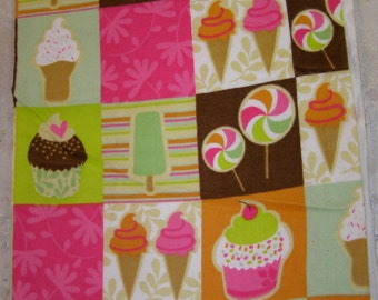 Sweet Treats Flannel Fabric