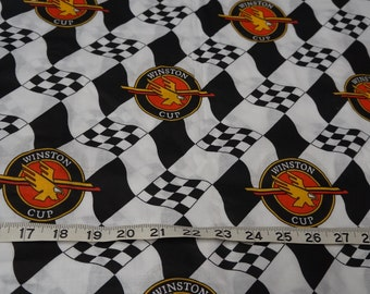 Winston Cup Nascar Car Race Racing Fabric