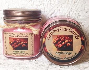 Jar Candle - Apple Sage - Half Pint