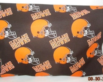 Travel/Toddler Size Cleveland Browns Pillowcase