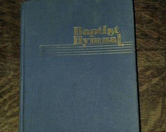 1975 Baptist Hymnal Hardcover, Choir Music, Piano Music, Church Music, Traditional Music, Convention Press