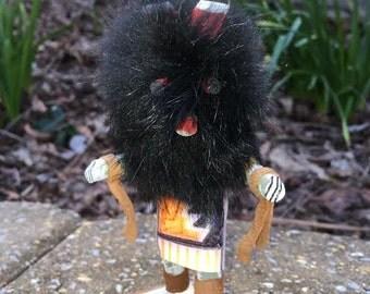 Dancing Wolf Kachina Doll