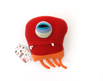 "Sea Creature Plush ""Ralph"" Jelly Cotton Monster"