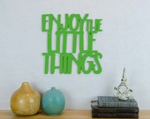 Enjoy The Little Things Sign, Inspirational Wood Sign, Little Things In Life, Baby Room Sign, Baby Nursery Wall Sign