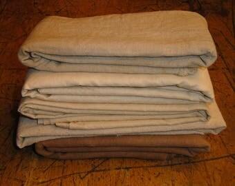 Cotton Fabric Hand Dyed Bundle   Primitive Dyed Fabric Bundle   Doll Making Fabric Bundle   Hand Dyed Scrap Fabric Bundle
