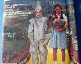 McCalls Crafts 2202 Dorothy and Tin Man  costumes sewing pattern