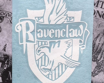 Harry Potter Inspired Ravenclaw House Crest Car, Laptop, or Decor Vinyl Decal