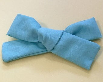 Turquoise Baby Hair Bow...