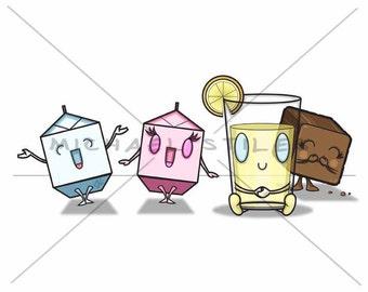 Milk, Milk, Lemonade...