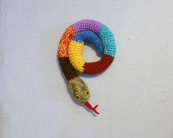 Filled Stuffed Door Snake Draft Stopper Window Draft Stop Snake Mixed Colors, Crochet Draft Dodger, Door Draft Snake