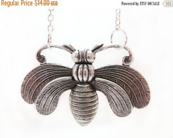 SALE Moth Necklace Insect Jewelry