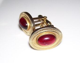 Vintage Anson Gold Tone Cufflinks