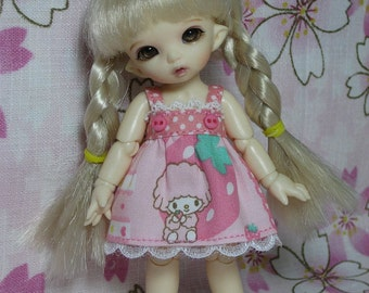 Sheep and Strberry Dress for Pukipuki
