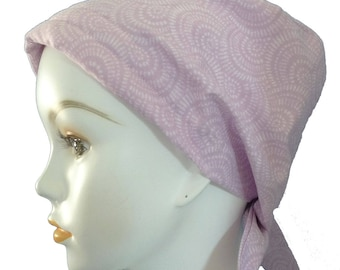 Classic Mauve Chemo Cancer Hair Loss Scarf Turban Hat Bad Hair Day Headcover Hairwrap