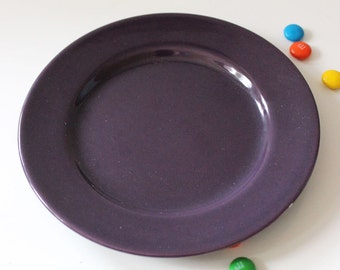 Franciscan El Patio Purple bread and butter plate. Mid century modern serving.
