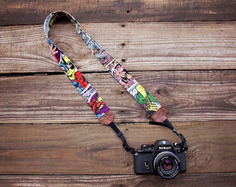 Marvel Comic  Camera Strap