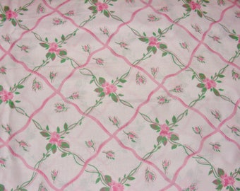 Roses Rosebud Fabric For Bedding