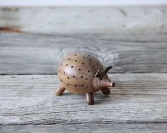 Danish Modern Animal Hedgehog Porcupine Toothpick Holder Appetizer Laurids Lonborg Kay Bojesen Style