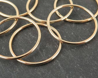 Gold Filled Stacking Ring 17.7mm ~ Size J/5/50 (CG9343)