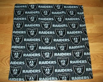 Baby's First Blanket Raiders Football