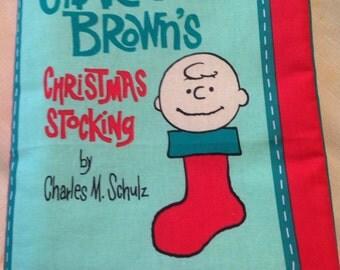 Charlie Brown Christmas Stocking book