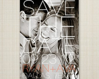 save the date, save-the-date magnet or card, save the date postcard, DIY printable save the date,