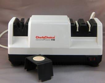 Chef's Choice 110 Professional Diamond Hone 3 Stage Sharpener USA