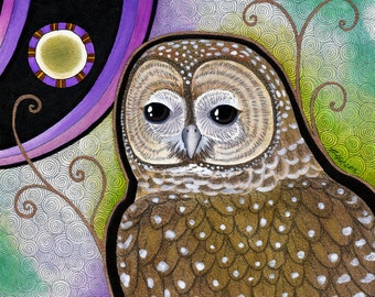 Spotted Owl as Totem