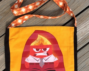 Inside Out / Fired Up tshirt bag