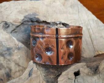 Copper Cuff Fold Form
