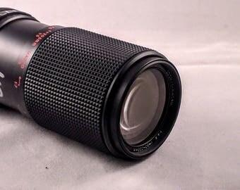 Gemini MC auto zoom Macro 80-205mm f/4.5 FD Mount zoom lens