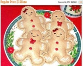 BLACK FRIDAY Boy And Girl Gingerbread  Cookies Set Of  2 dolls one boy and one girl #2512