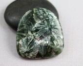 Seraphinite Cabachon - 33mm - Seraphinite - Focal