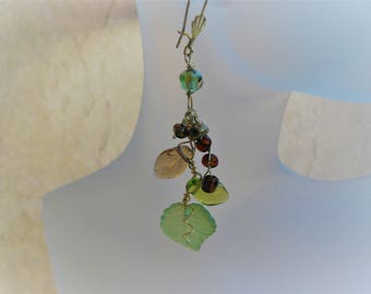 Handmade Jewelry, Wearable Art, Unique Handmade, Dangle Earrings, One of a Kind, Unique Gifts, Mother's Day Gifts, Gift Ideas, For Her