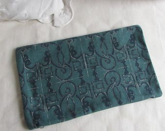 SEVILLE pillow cover 12x20 prussian blue