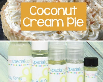 Coconut Cream Pie Perfume, Perfume Spray, Body Spray, Perfume Roll On, Perfume Sample, Dry Oil Spray, You Choose the Product