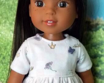 Knit Dress and Leggings for 14.5 inch little girl dolls