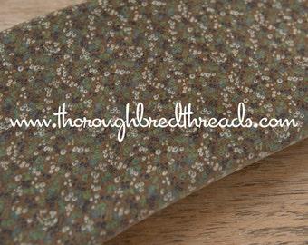 Sweet Floral Velvet - Vintage Fabric 70s New Old Stock Upholstery