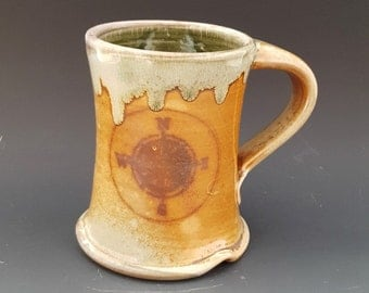 Woodfired Compass Rose Explore Mug/Cup