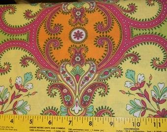 Design Loft Garden Courtyard Cotton Fabric in Spring Half Yard