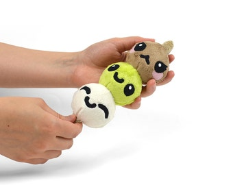 Dango Skewered Dumplings Japanese Snack Food Plush Toy