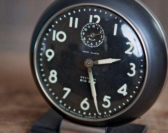Two Vintage Big Ben Clocks by Westclox