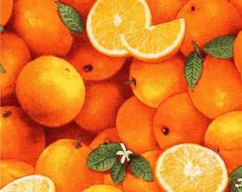 192962 orange fruit food fabric Food Festival Elizabeth's Studio