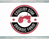 Premade Farm Logo Design, Custom Logo,  Farm Logo, Tractor Logo, Business Logo
