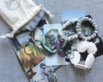Full Moon Mystery Mala Bracelet and Reading