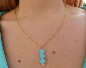3 Dot Necklace-8 Color Choices