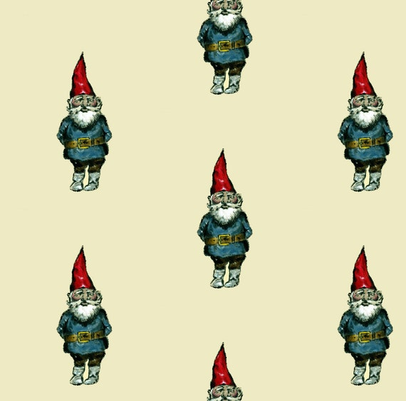 Gnome Fabric Gnome By Taraput Gnome Cotton Fabric By The