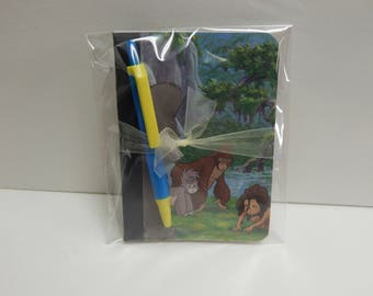 Up cycled MINI Composition Book Disney Tarzan