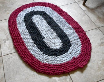 Recycled Rag rug Toothbrush Amish Knot