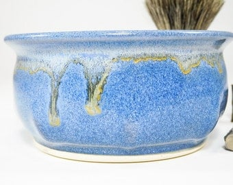 Shaving Bowl - Clay Shave Cup - Ceramic Shave Dish - Wetshaving Ceramic - Shaving Dish - Wet Shaving Pottery - Wet Shave Ceramic - In Stock